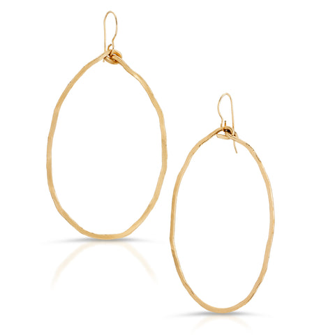 Serengeti Hoop Earrings