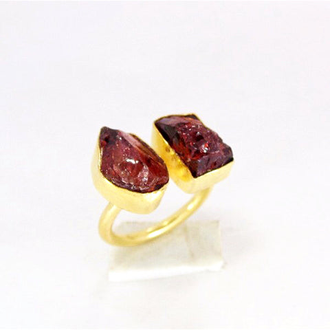 Garnet Gemstone  Ring