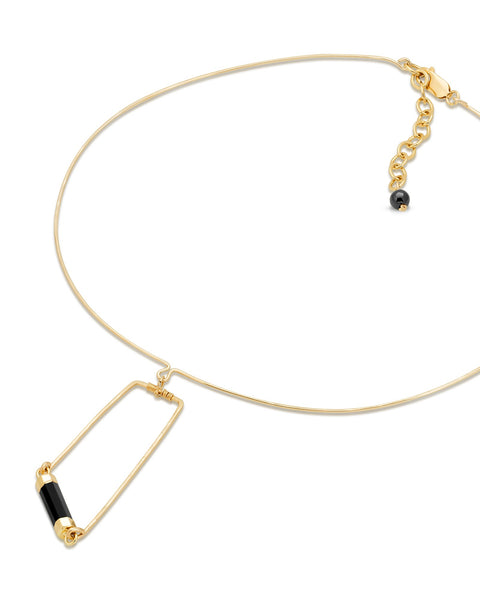 CAIRO Onyx Collar Necklace