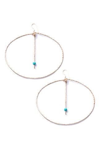Kebero Hoop Earrings