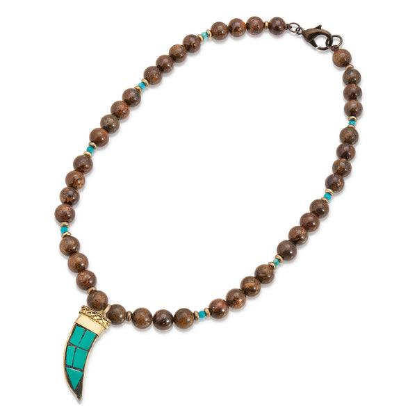 Kofi Horn Necklace