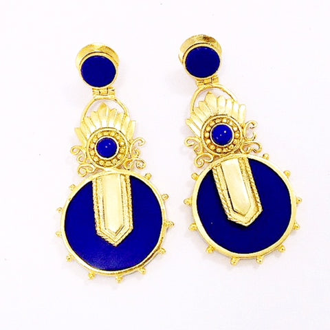 Nefertiti Chandelier Earrings