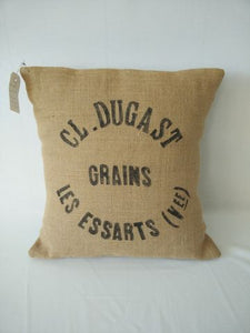 Dugast Grain Sack Cushion
