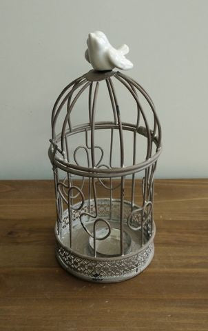 Candle holder - Round Birdcage
