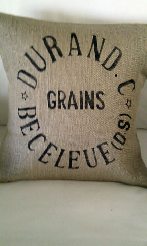 Durand Grain Sack Cushion