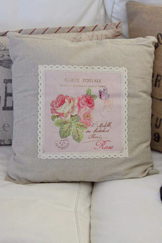 Cushion - Linen Carte