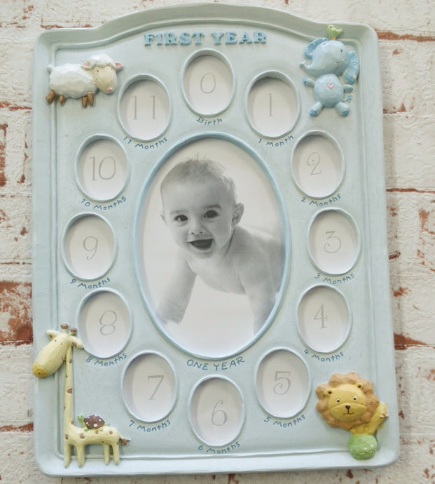 'First year' photoframe