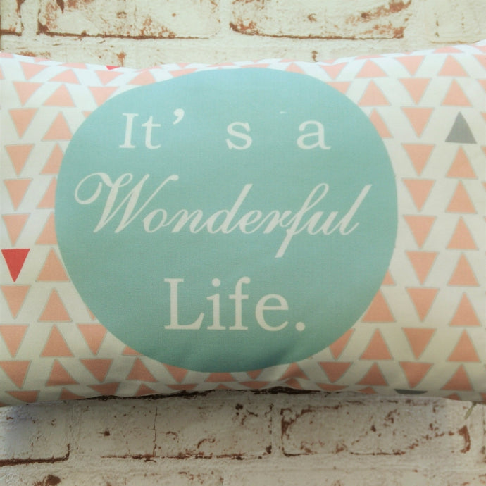 It's a Wonderful Life cushion