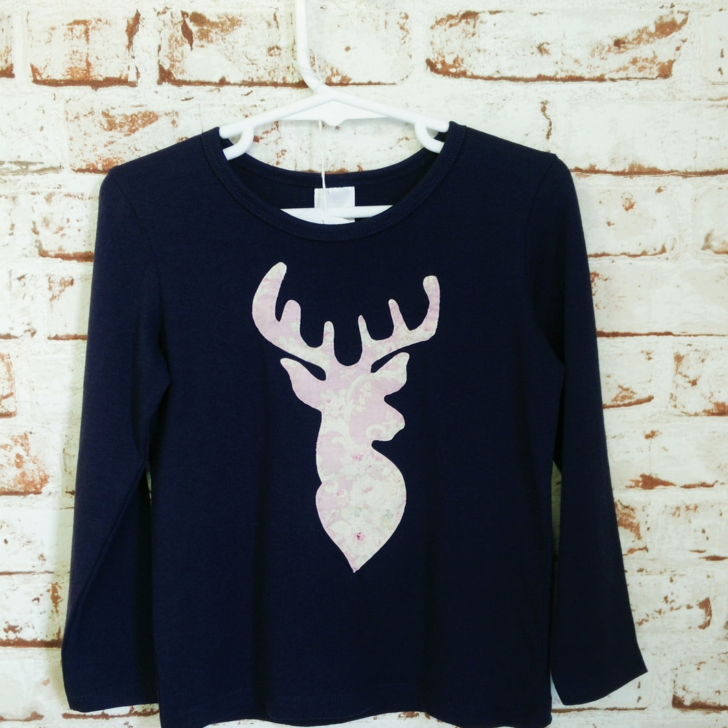 Long Sleeve Stag shirt
