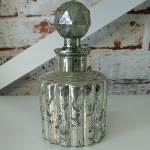 Small rubbed Mercury Bottle with Stopper