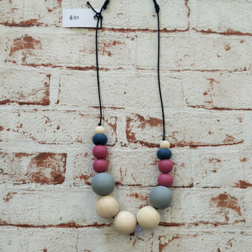 Wooden Beaded Necklaces- Assorted Designs