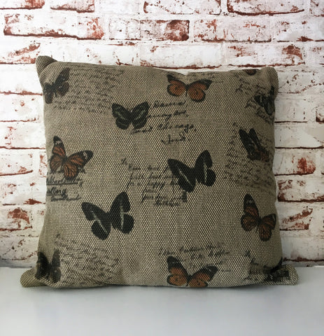 Cushion - Butterfly Print