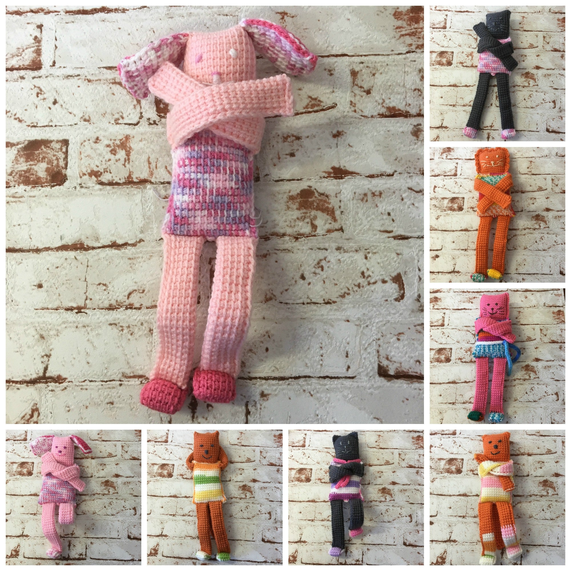Crocheted Animals- Assorted designs