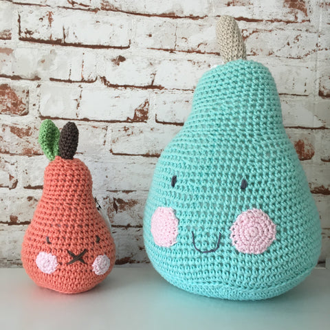 Crocheted Pear Toys