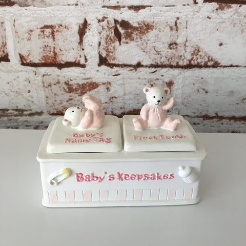 Baby's Keepsake Box - Teddies
