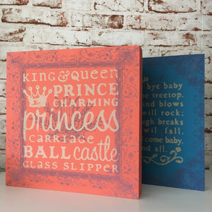Childrens Lullaby & Fairy tale Print