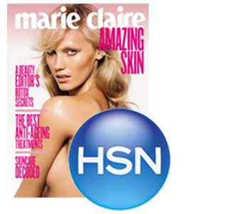 """The Natural Celebrity Secret"" as seen on HSN and in Marie Claire"