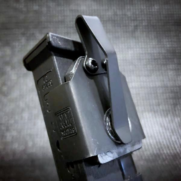Small NeoMag (For .380ACP): Black Clip
