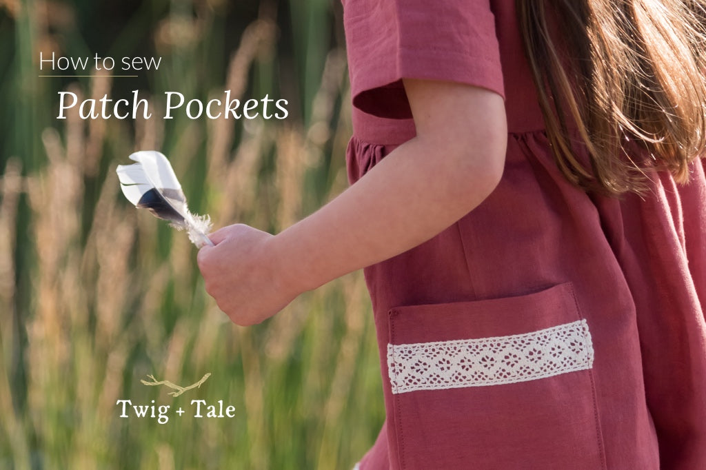 How to Sew a Patch Pocket