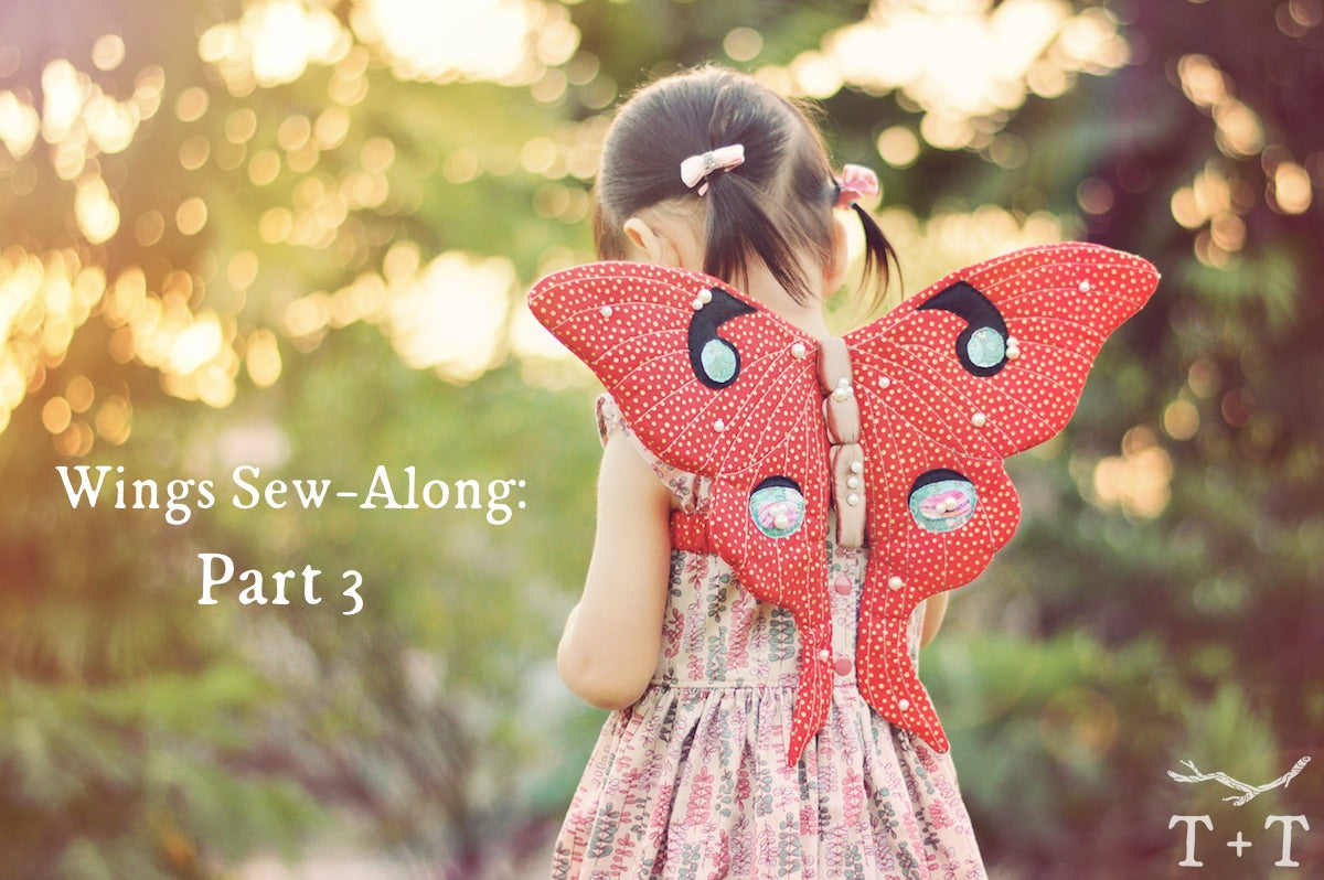 Wings Sew-Along: Part 3 - Turning