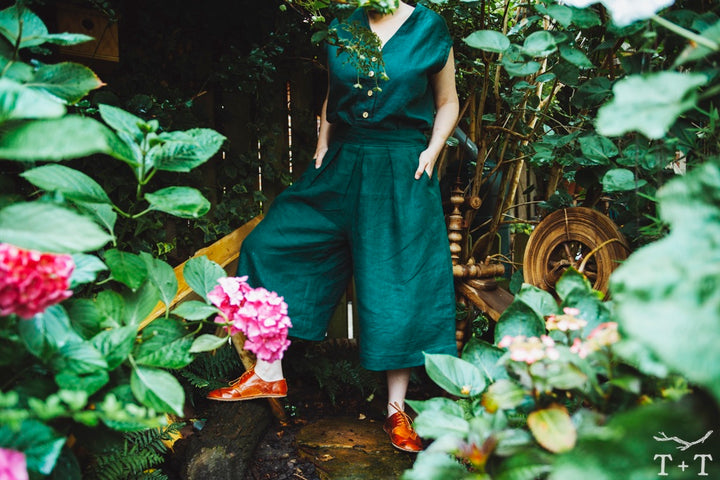 Introducing the Fernway Culottes for Adults + Children