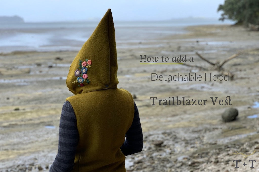 How to add a Detachable Hood to the Trailblazer Vest