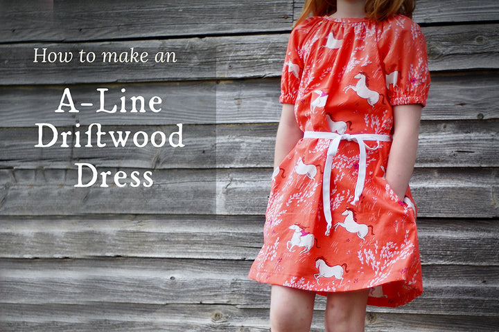 How to Make an A-Line Driftwood Dress