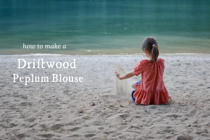 How to Make a Driftwood Peplum Blouse