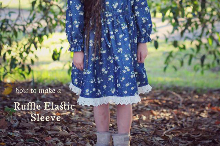 How to Make a Ruffle Sleeve Driftwood Blouse or Dress