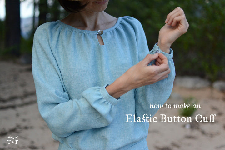 How to make a Button Cuff for your Women's Driftwood
