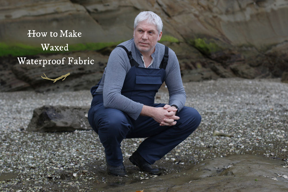 How to Make Waxed Fabric for a Waterproof Garment