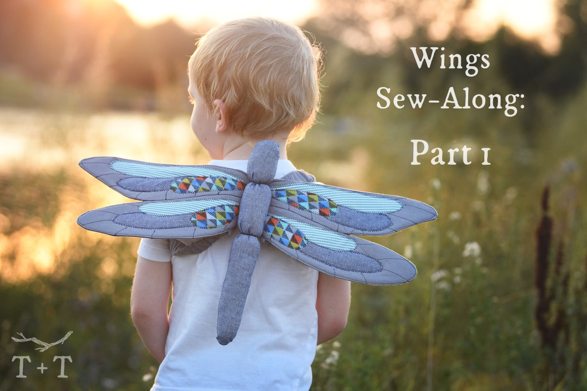 Wings Sew-Along: Part 1 - Prep and Cutting