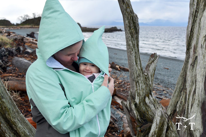 The Nestledown Baby Wearing + Pregnancy Add-On - for Forester Coat