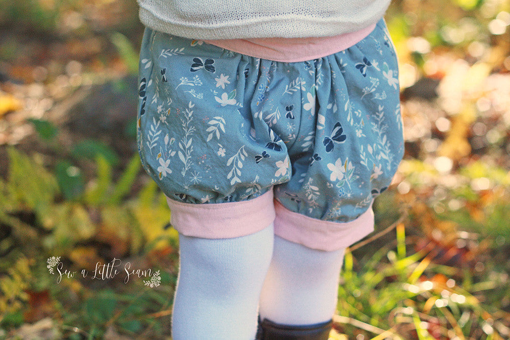 How to Make Lined Reversible Pixie Shorts