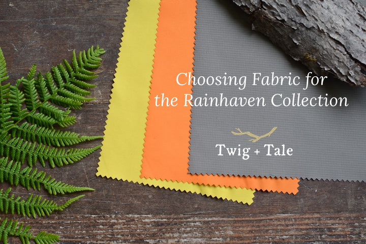 Choosing Fabric for the Rainhaven Collection