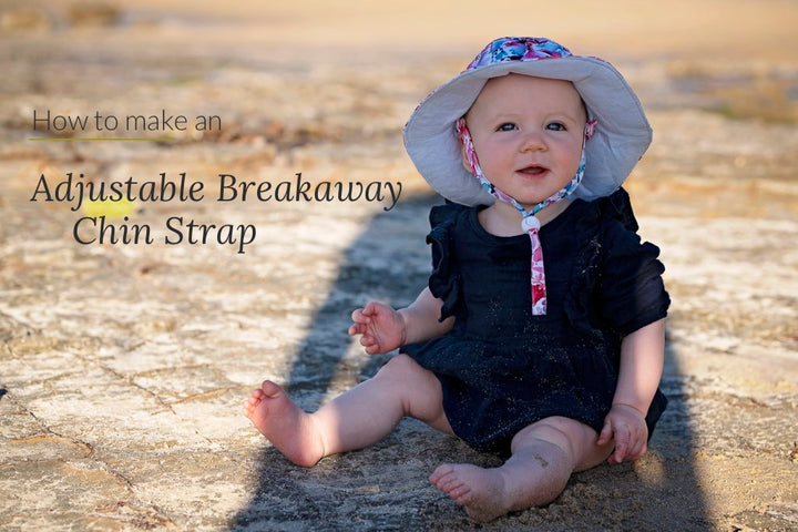 How to make an Adjustable Breakaway Chin Strap for a Reversible Hat