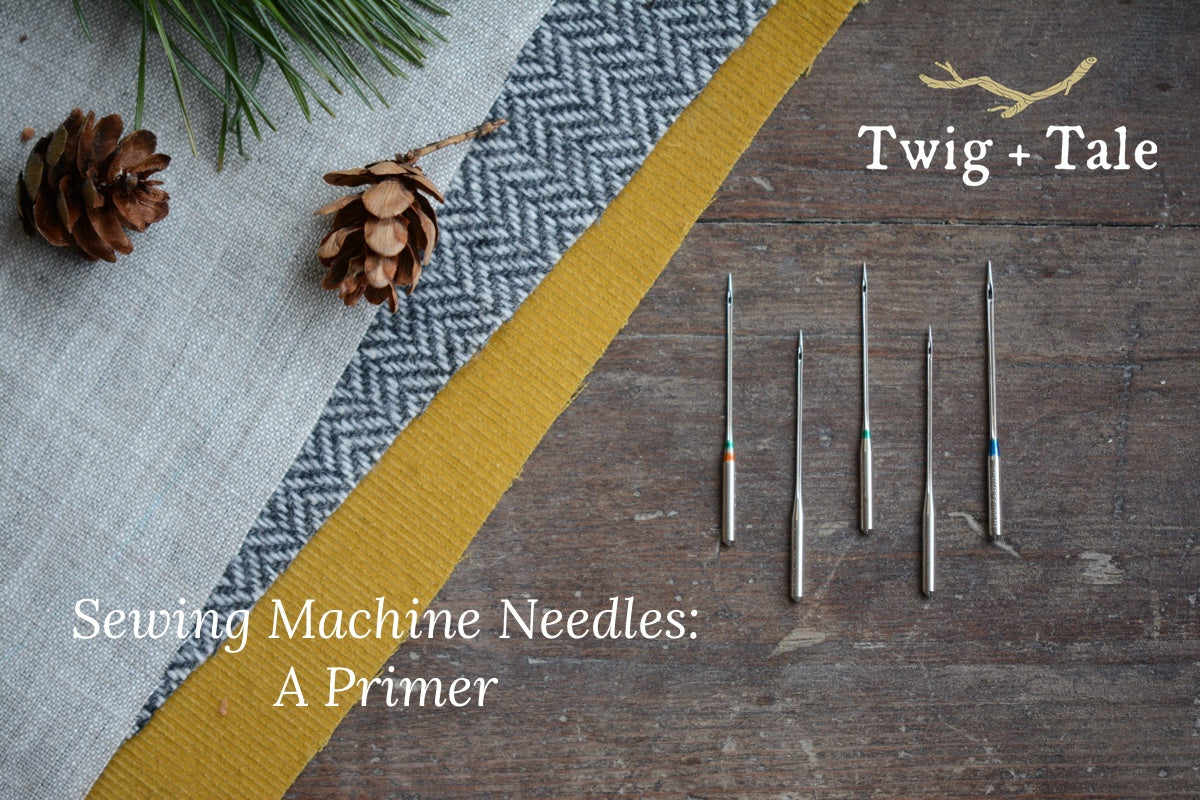 Sewing Machine Needles: A Primer