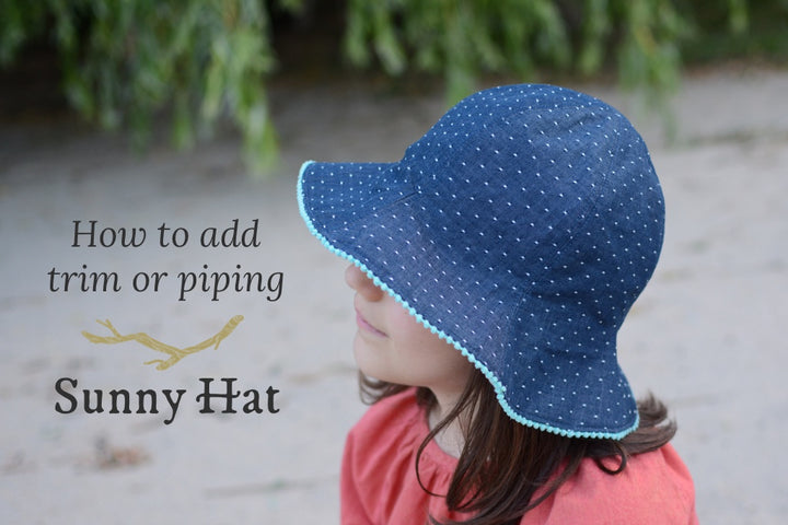 How to Add Trim to the Sunny Hat