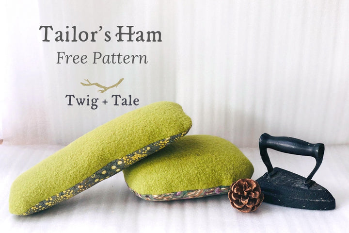 How to Make Your Own Tailors Ham - Free Pattern!