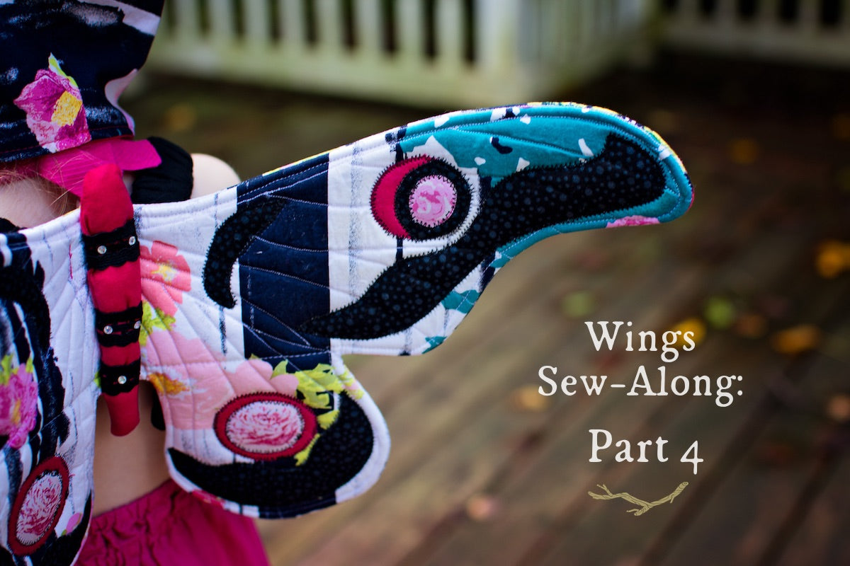Wings Sew-Along: Part 4 - Appliqué