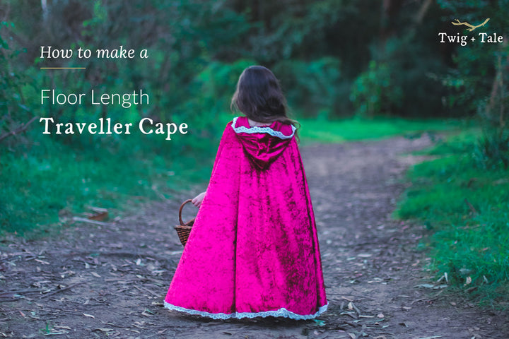 How to Make a Floor Length Traveller Cape