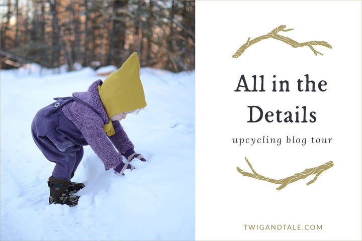 """It's All in the Details"" - An Upcycling Blog Tour"