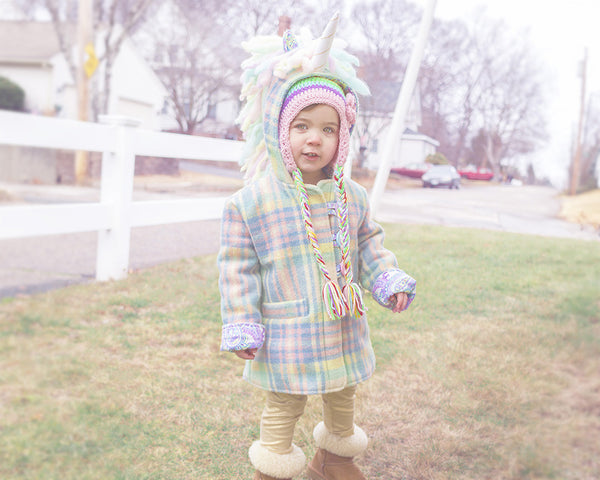 Hot to Sew a Welt Pocket - Unicorn Coat