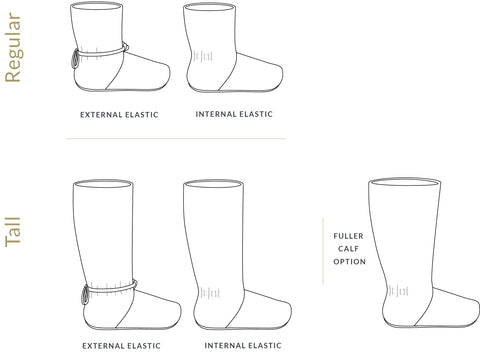Tie Back Boots Sewing pattern for beginner shoemakers by Twig + Tale - Adult sizes