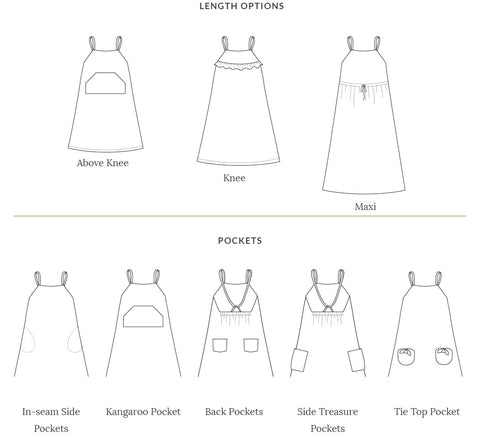 Barefoot Dress Sewing Pattern by Twig + Tale