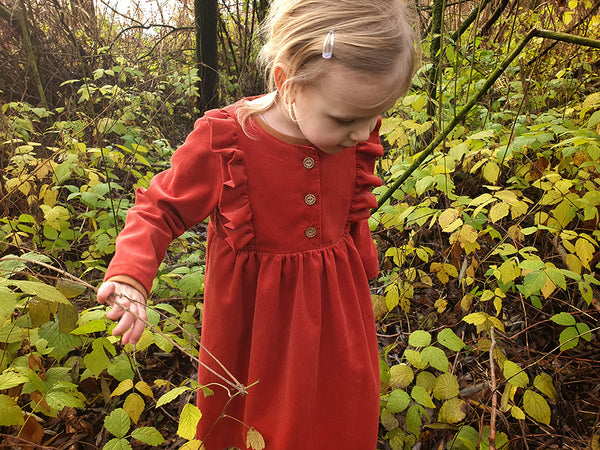 Fable Dress Sewing Pattern by Twig + Tale
