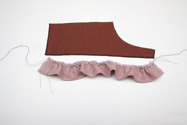 Adding Ruffles to Fable Dress by Twig + Tale