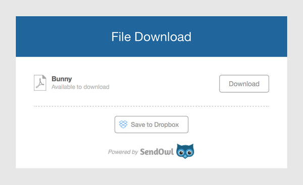 How to download a PDF pattern file