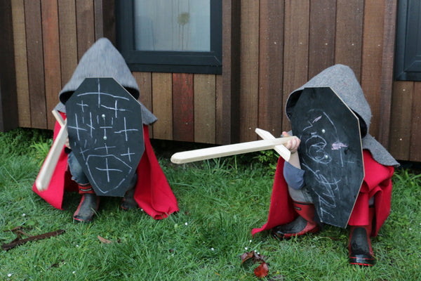 Knights Costume by Twig and Tale