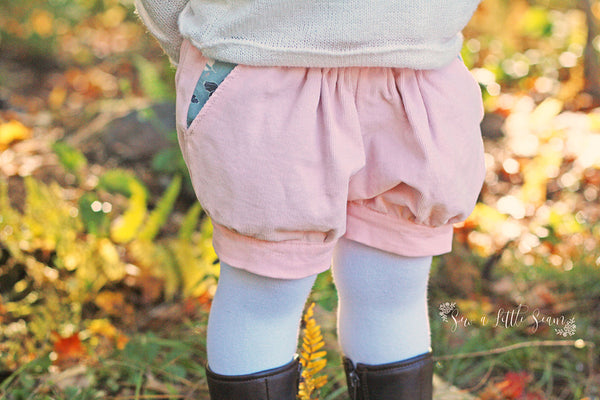 How to make Reversible Pixie Shorts by Twig + Tale 7